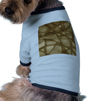 sepia abstracta imponente camiseta con mangas para perro