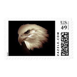 Sepia American Eagle - Bald Eagle Postage