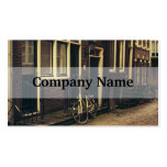 Sepia Amsterdam Street Photography, Bicycle Business Card