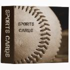 "Sepia Baseball 2"" Sports Cards Album 3 Ring Binder"