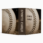"Sepia Baseball 2"" Sports Cards Album Binders"