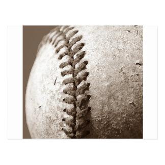 Sepia Baseball Postcard