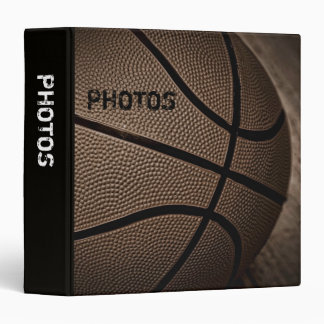 "Sepia Basketball 1.5"" Photo Album Binder"