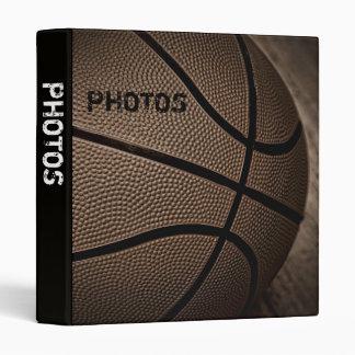 "Sepia Basketball 1"" Photo Album Binder"
