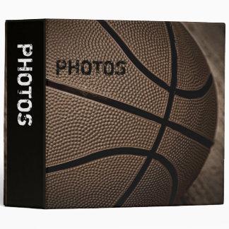 "Sepia Basketball 2"" Photo Album Binder"