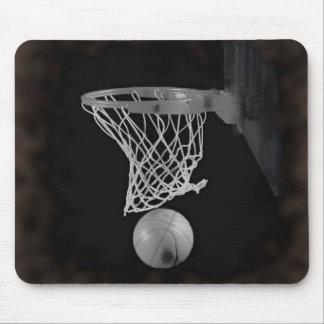 Sepia Basketball Mouse Pad