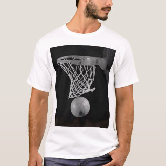 Sepia Basketball T-Shirt