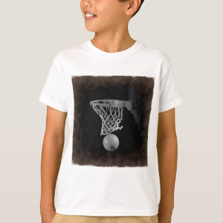 Sepia Basketball T-Shirt