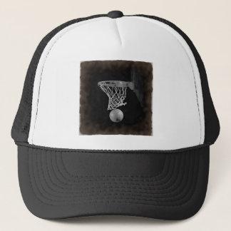 Sepia Basketball Trucker Hat