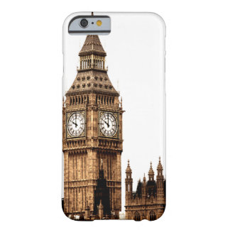 Sepia Big Ben Tower Barely There iPhone 6 Case