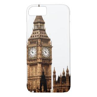 Sepia Big Ben Tower iPhone 7 Case