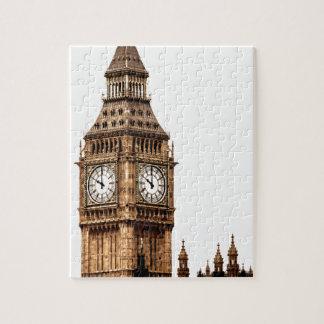 Sepia Big Ben Tower Jigsaw Puzzle