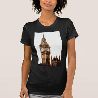 Sepia Big Ben Tower T-Shirt