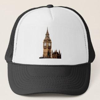 Sepia Big Ben Tower Trucker Hat
