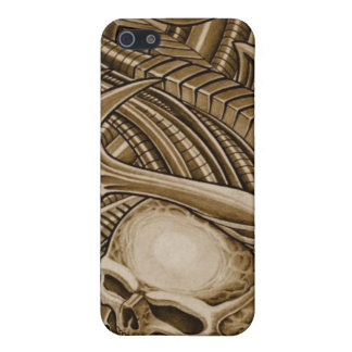 sepia biomechanical iPhone SE/5/5s case