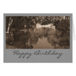 Sepia Birthday Card