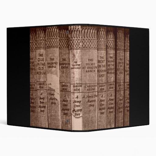 Sepia Books 3 Ring Binder