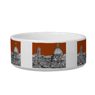 Sepia brown Florence Bowl