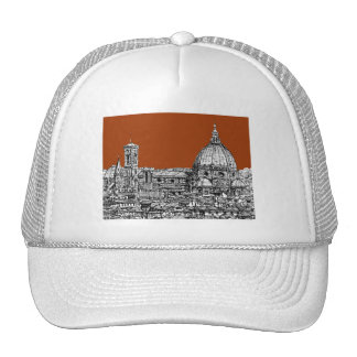 Sepia brown Florence Trucker Hat