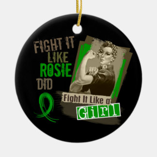 Sepia Cancer png hepático de Rosie Ornamento Para Arbol De Navidad