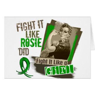 Sepia Cancer png hepático de Rosie Felicitaciones