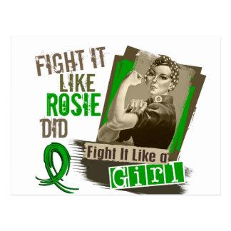 Sepia Cancer png hepático de Rosie Tarjetas Postales