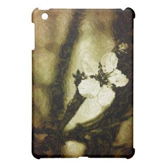 Sepia cherry blossom iPad mini case