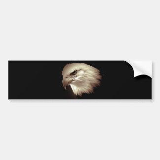 Sepia Color Bald Eagle Bumper Sticker