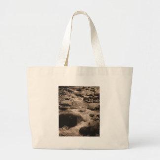 Sepia Creek Photo Jumbo Tote Bag