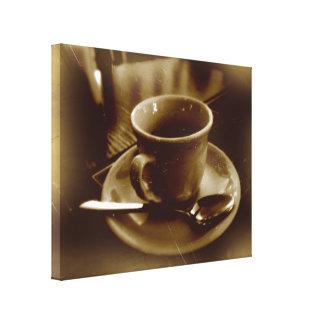Sepia dark espresso no2 canvas print