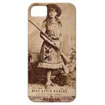 Sepia de Annie Oakley iPhone 5 Carcasa