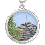 Sepia de madera del árbol del cielo de la cúpula d grimpola personalizada