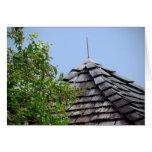 Sepia de madera del árbol del cielo de la cúpula d felicitacion