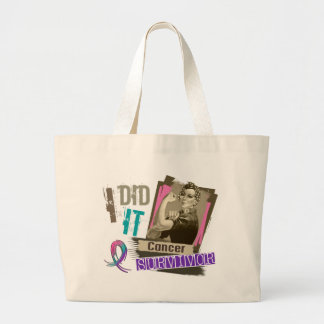 Sepia de Rosie la hice cáncer de tiroides Bolsas De Mano