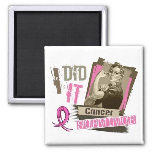 Sepia de Rosie la hice el pecho Cancer.png Iman Para Frigorífico