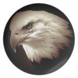 Sepia Eagle calvo Platos