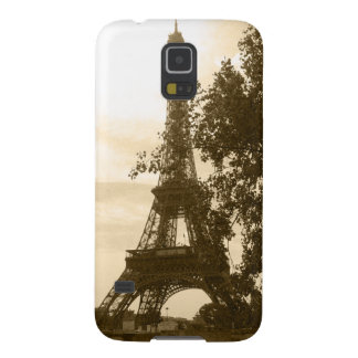 Sepia Eiffel Tower Cases For Galaxy S5