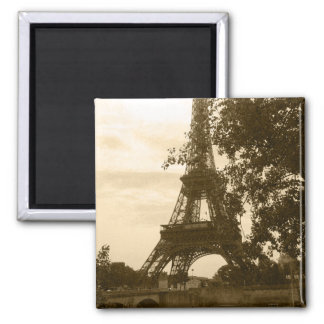 Sepia Eiffel Tower Magnets