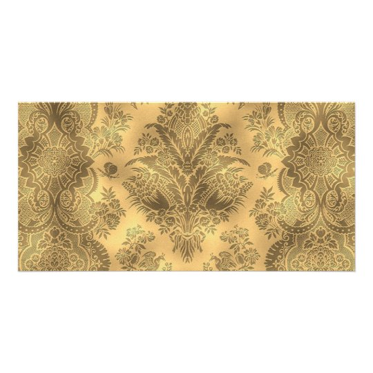 Sepia Faded Vintage Floral Card