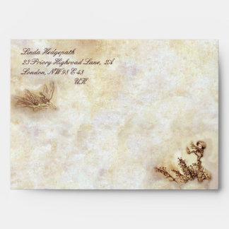 Sepia Fairies By Arthur Rackham Envelope