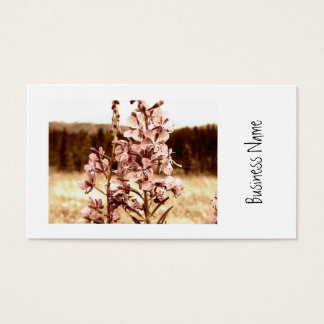 Sepia Fireweed Business Card