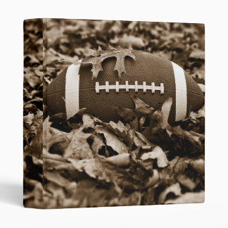 "Sepia Football 1"" Photo Album 3 Ring Binder"