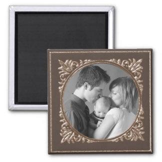 Sepia Frame Fridge Magnet