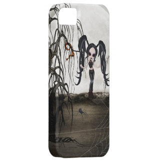Sepia Goth Girl iPhone 5 Cases