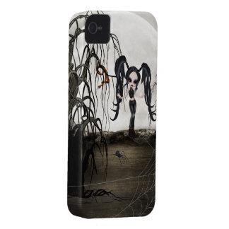 Sepia Goth Girl iPhone 4 Case