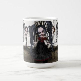 Sepia Goth Girl Coffee Mug