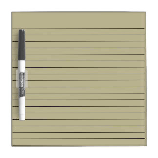 SEPIA GREY STRIPED LINES, DRY WRITING NOTE BOARD