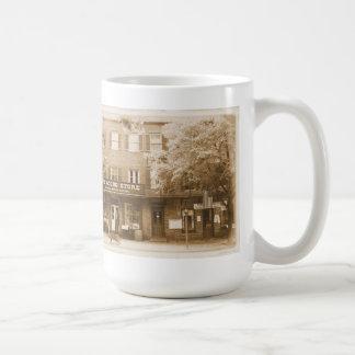 Sepia Harpers Ferry WV Dry Goods Store Mug
