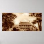 Sepia HDR de la casa de Whitall Impresiones