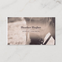 Sepia Horse Business Card